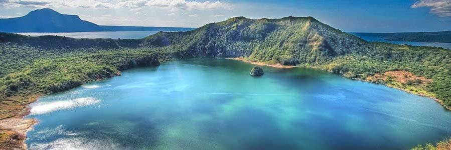 Magnificent View of Taal Lake
