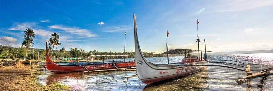 Boats for Taal Tour