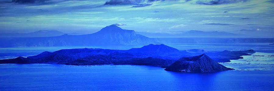 Beautiful view of Taal Lake