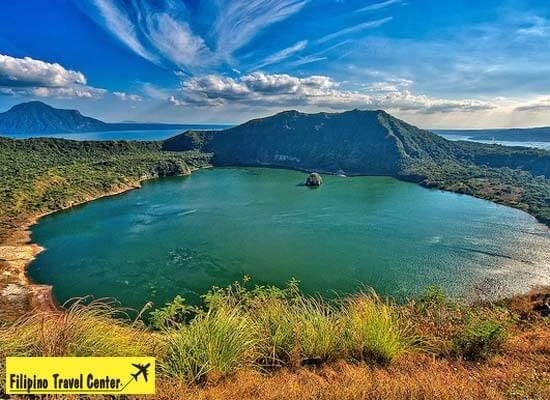 Amazing view of Taal Lake